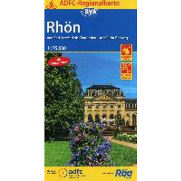 ADFC-Regionalkarte Rhön 1 : 75 000