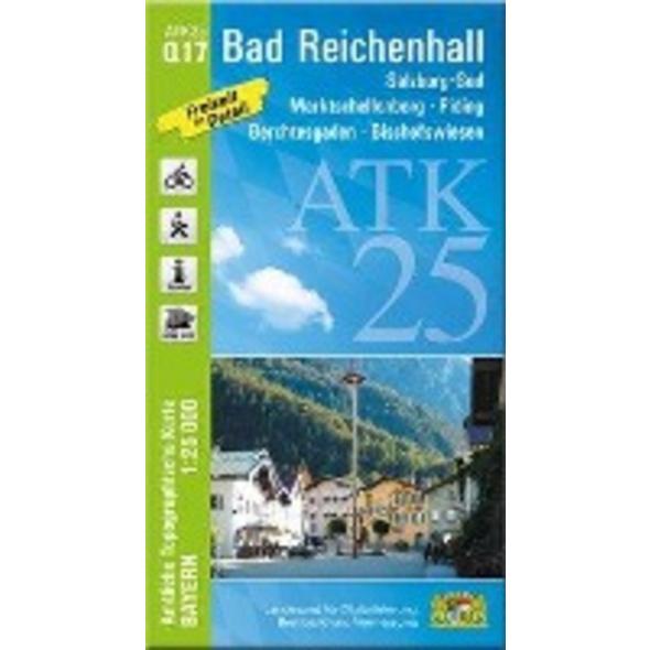 Bad Reichenhall 1 : 25 000