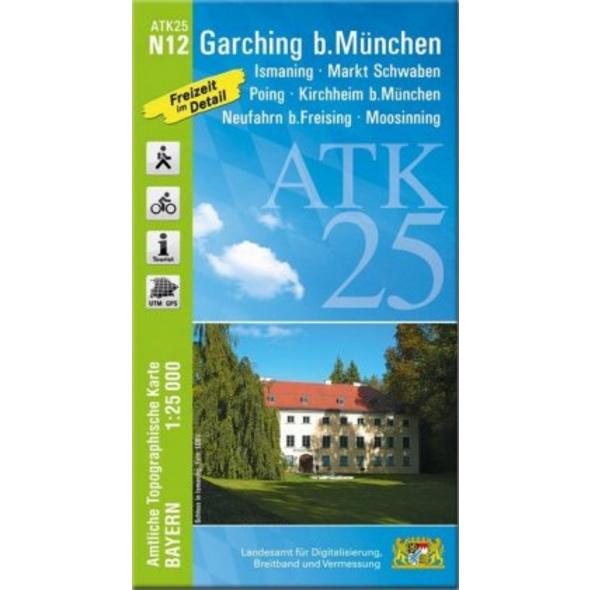 Garching b.München 1 : 25 000