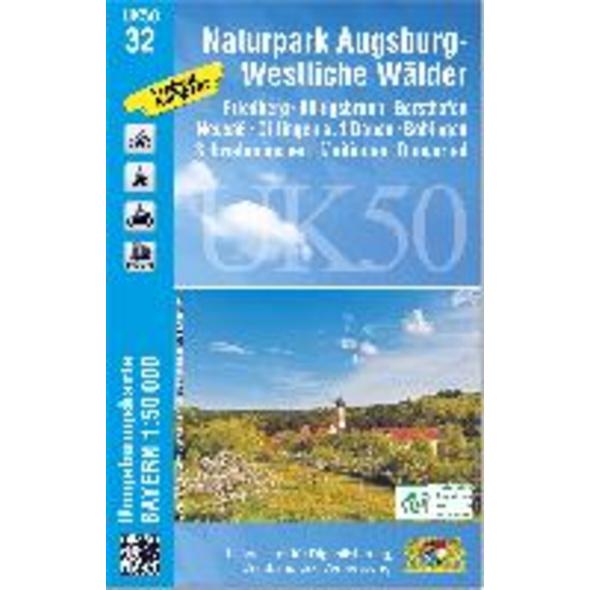 Augsburg 1: 50 000  UK50-32