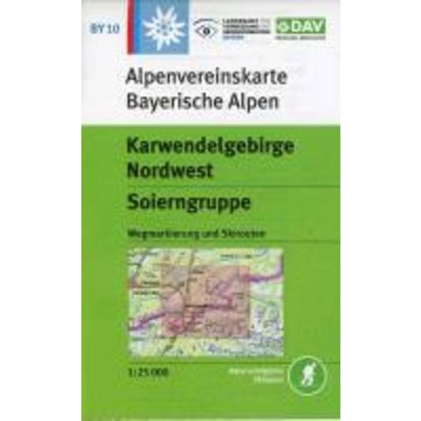 DAV Alpenvereinskarte Bayerische Alpen 10. Karwend