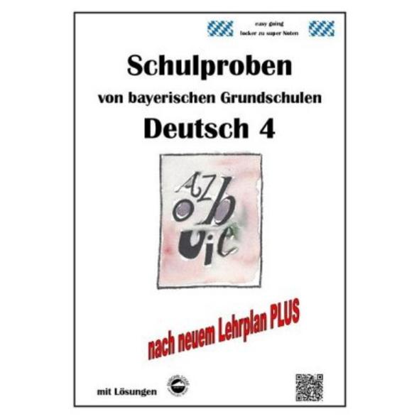 Schulproben von bayerischen Grundschulen - Deutsch