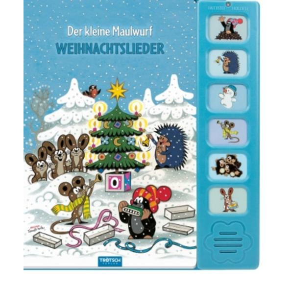 Weihnachtslieder Soundbuch  Der kleine Maulwurf