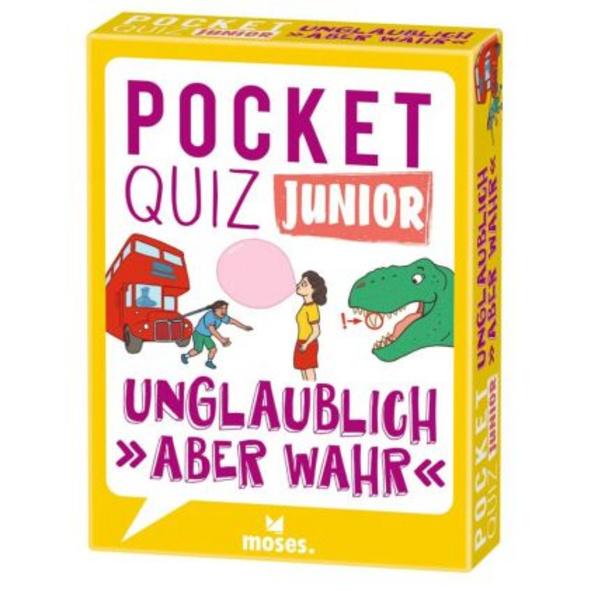 Pocket Quiz junior Unglaublich, aber wahr