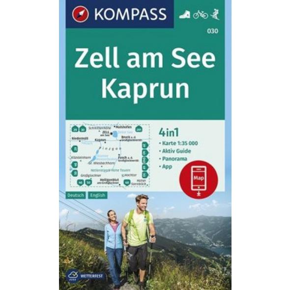 Zell am See, Kaprun 1:35 000