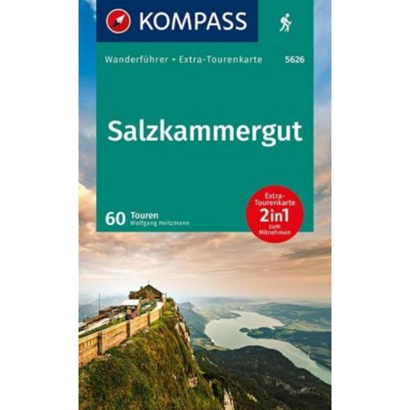 KOMPASS Wanderführer Salzkammergut