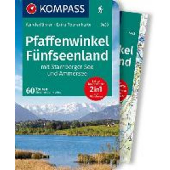 KOMPASS Wanderführer Pfaffenwinkel, Fünfseenland,
