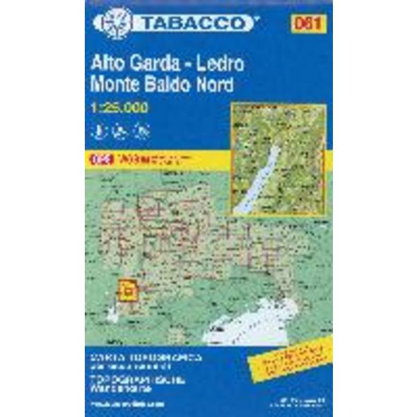 Tabacco Wandern 1 : 25 000 Alto Garda - Ledro - Mo