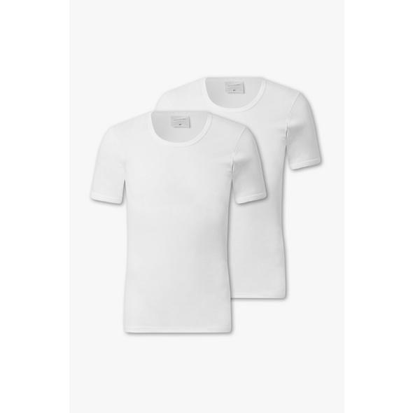 Unterhemd - Feinripp - Bio-Baumwolle - 2er Pack