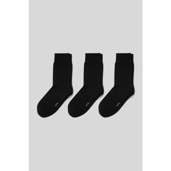 Socken - Bio-Baumwolle - 3 Paar