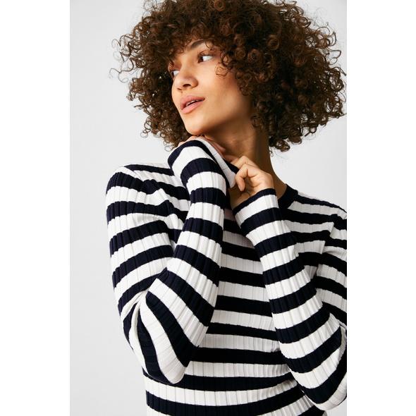 Pullover - gestreift