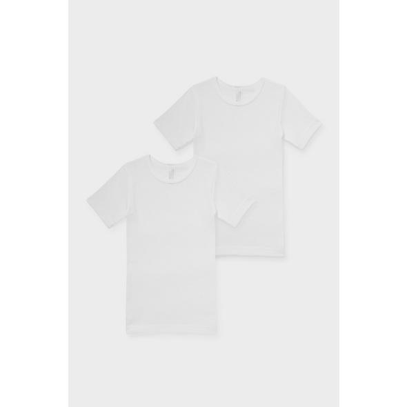 Multipack 2er - Unterhemd - Bio-Baumwolle