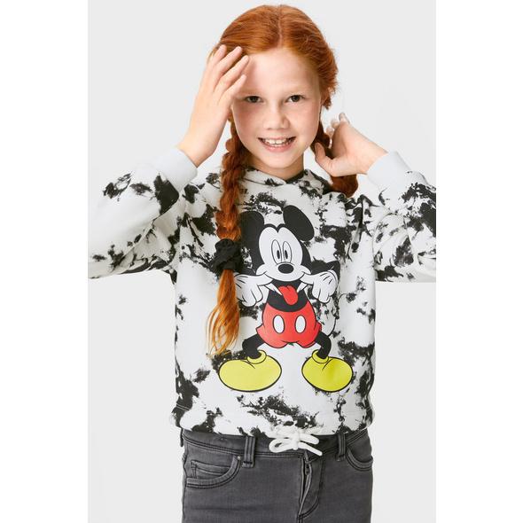 Micky Maus - Set - Hoodie und 2 Haargummis - 3 teilig
