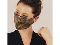 """Mund-Nasen-Maske """"Pailletten"""""""