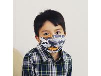 """Kinder Mund-Nasen-Maske """"Sharks"""""""