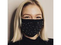"""Mund-Nasen-Maske Baumwolle """"Glitzer"""""""
