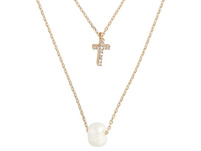 Kette - Pearly Cross