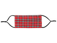 Mundbedeckung - Red Plaid