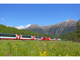 Bahnreise Schweiz für 2 (5 Tage)