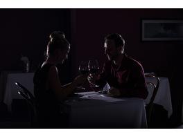 Dinner in the Dark in Speyer