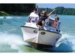 Schnellboot fahren für 4 Personen