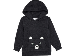 Sweatshirt, Kapuze, Kängurutasche, Katzendesign, für Mädchen