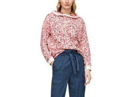Hoodie mit Millefleurs-Muster - Sweatshirt