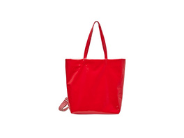 Shopper in Lackleder-Optik - Shopper