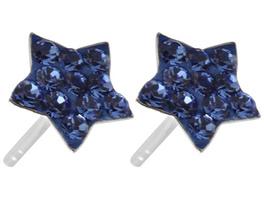 Ohrstecker - Blauer Stern