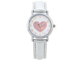 Kinder Uhr - Glitter Heart