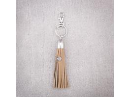 Schlüsselanhänger - Leather Fringes