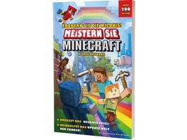 Meistern Sie Minecraft: Erobern Sie die Wildnis! - Lösungsbuch
