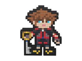 Pixel Pals - Kingdom Hearts Sora