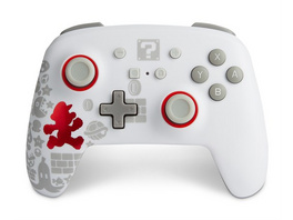 Nintendo Switch PowerA Wireless Controller Mario running