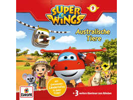Super Wings 09. Australische Tiere