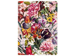 Sammelmappe de Luxe A4 Blumengruß