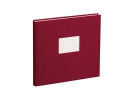 353525 Gästebuch burgundy