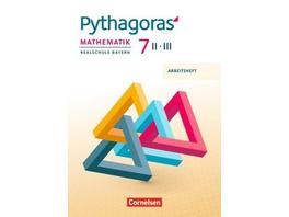 Pythagoras 7. Jahrgangsstufe  WPF II III  - Arbeit