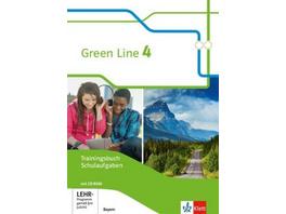 Green Line 4. Trainingsbuch Schulaufgaben, Heft mi