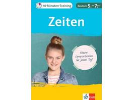 10-Minuten-Training Deutsch Grammatik Zeiten 5. -