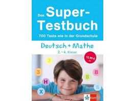 Das Super-Testbuch Deutsch   Mathe 2.-4. Klasse