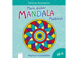 Mein dicker Mandala-Malblock