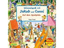 Wimmelspaß mit Jakob und Conni: Auf dem Spielplatz