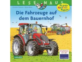 LESEMAUS 187: Die Fahrzeuge auf dem Bauernhof
