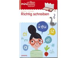 miniLÜK. 2. Klasse - Deutsch: Richtig schreiben