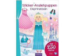 Sticker-Anziehpuppen Eisprinzessin