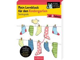 Mein Lernblock für den Kindergarten - Denkspiele