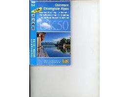 Chiemsee - Chiemgauer Alpen 1 : 50 000  UK50-54
