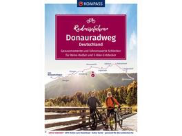 KOMPASS RadReiseFührer Donauradweg Deutschland - G