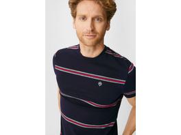 T-Shirt - Flex - COOLMAX® EcoMade - gestreift